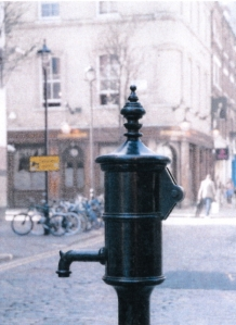 Replica water pump in Soho street.