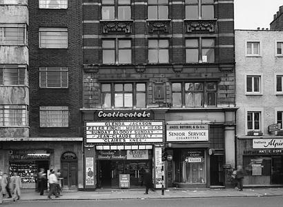 Continentale Cinema on Tottenham Court Road.