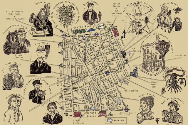 Map of Fitzrovia.