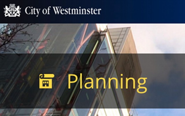 Westminster council planning logo.