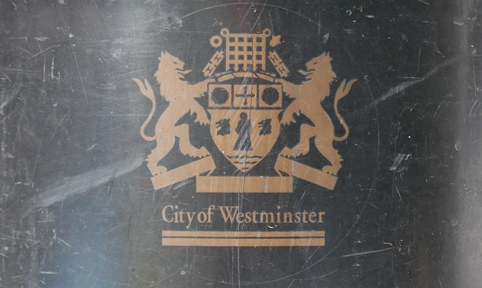 City of Westminster bin.